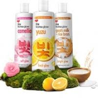 Unilever Korea Glow Body Wash & Bar