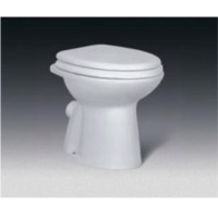 WC pan for high level cistern