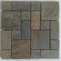 Gold Tumble Mosaic