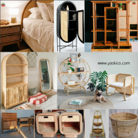 Rattan & Wood Home Decoration
