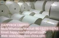 PE Coated Paper Cup Stock Roll Printed or White