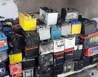 Drained Battery Lead Scrap