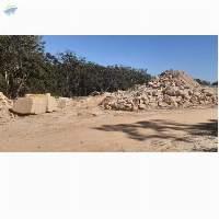Sandstone Rock, Rubble And Ballast