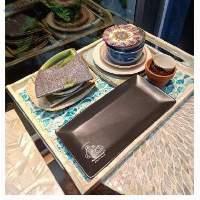 Set of 12 Japanese Ceramic Dishes