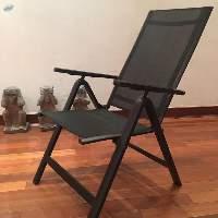Outdoor Aluminium Folding Chair And Stool