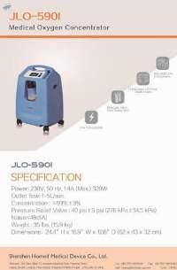 Medical Grade Oxygen Concentrator