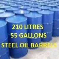 Steel Oil Barrels - Prices until 19-04-2021