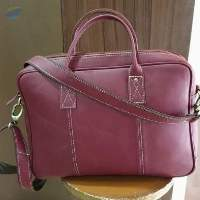 Leather Briefcase/laptop And Carry Bags