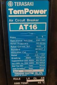 Terasaki Air Circuit Breaker