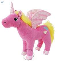 Unicorn Pink Plush Toy 10inch