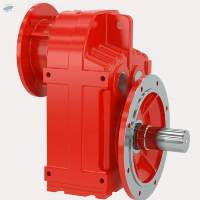 TF - Parallel Shaft Helical Geared Motor