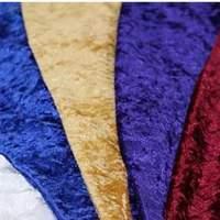 Crush/budget Velvet Fabric