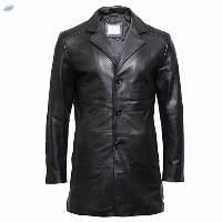Custom New Design Leather Coat For Men
