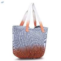 Handmade Cotton Canvas Bag With Magnetic Closure