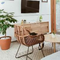 Teak & Rattan Wood Furniture